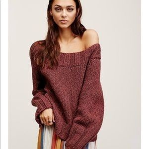 Free People Beachy Slouch Sweater